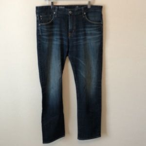 AG The Graduate Tailored Leg Dark Jeans 36 by 34